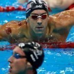 Olympic swimmers cupping